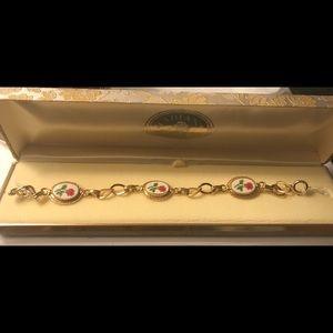 Jewelry - Vintage enamel bracelet